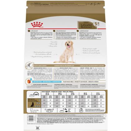 Labrador Retriever Adult 5+ Dry Dog Food