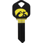 NCAA University of Iowa Key Blank