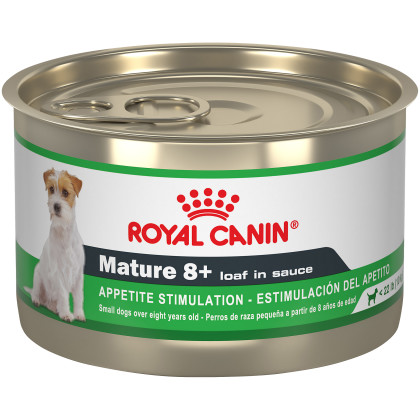 Mature 8+ Loaf In Sauce Canned Dog Food
