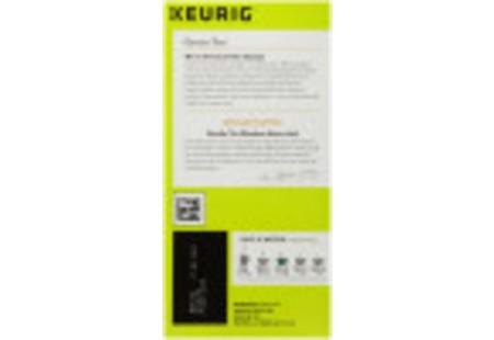 Right side of Keurig Bigelow Green Tea K-Cups box of 24 - ingredient panel