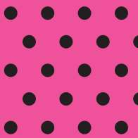 Swatch for Printed Duck Tape® Brand Duct Tape - Polka Dots, 1.88 in. x 10 yd.