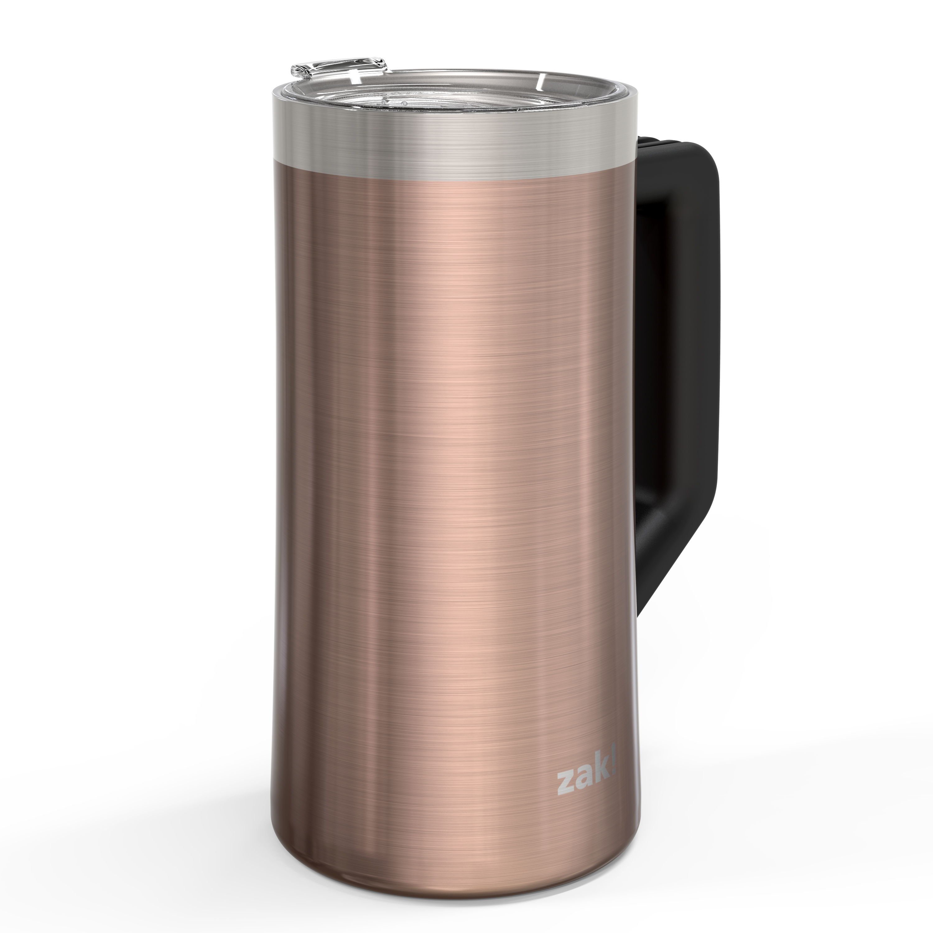Creston 25 ounce Stainless Steel Vacuum Insulated Beer Stein, Rose Gold slideshow image 2