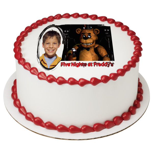 Five Nights at Freddy's™ Play PhotoCake® Edible Image® Frame