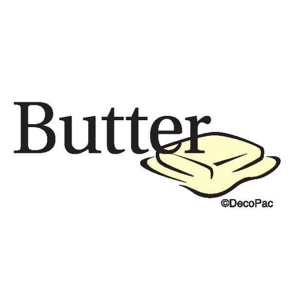 Butter Promotional Label