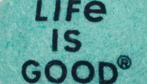 Life is Good Rope Tug Ball