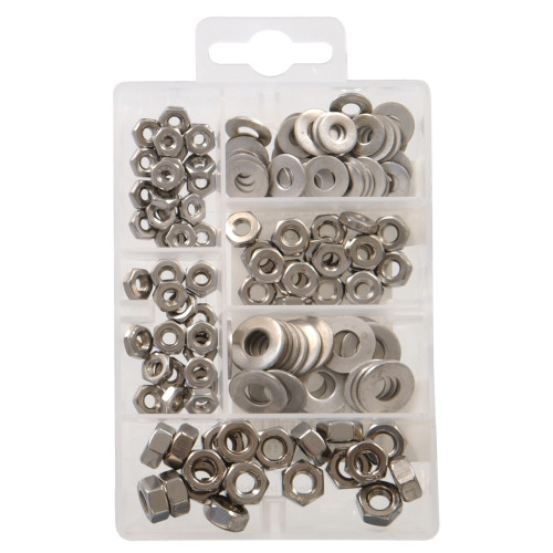 Stainless Steel Nuts and Washers Kit Small