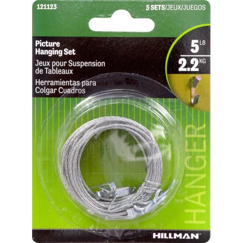 Hillman Picture Hanging Kit Set 5lbs