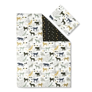 Dreamit - Comforter and Pillowcase Safari Wild Cats
