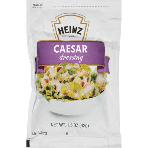 HEINZ Single Serve Caesar Salad Dressing, 1.5 oz. Packets (Pack of 60) image