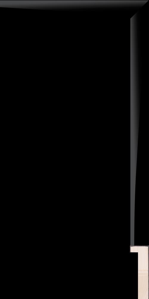 Bauhaus Shadow Box Black 3/4