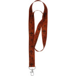 Brown Cross Neck Lanyards