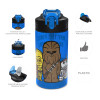 Star Wars 16 ounce Water Bottle, Darth Vader and Yoda, 2-piece set slideshow image 6
