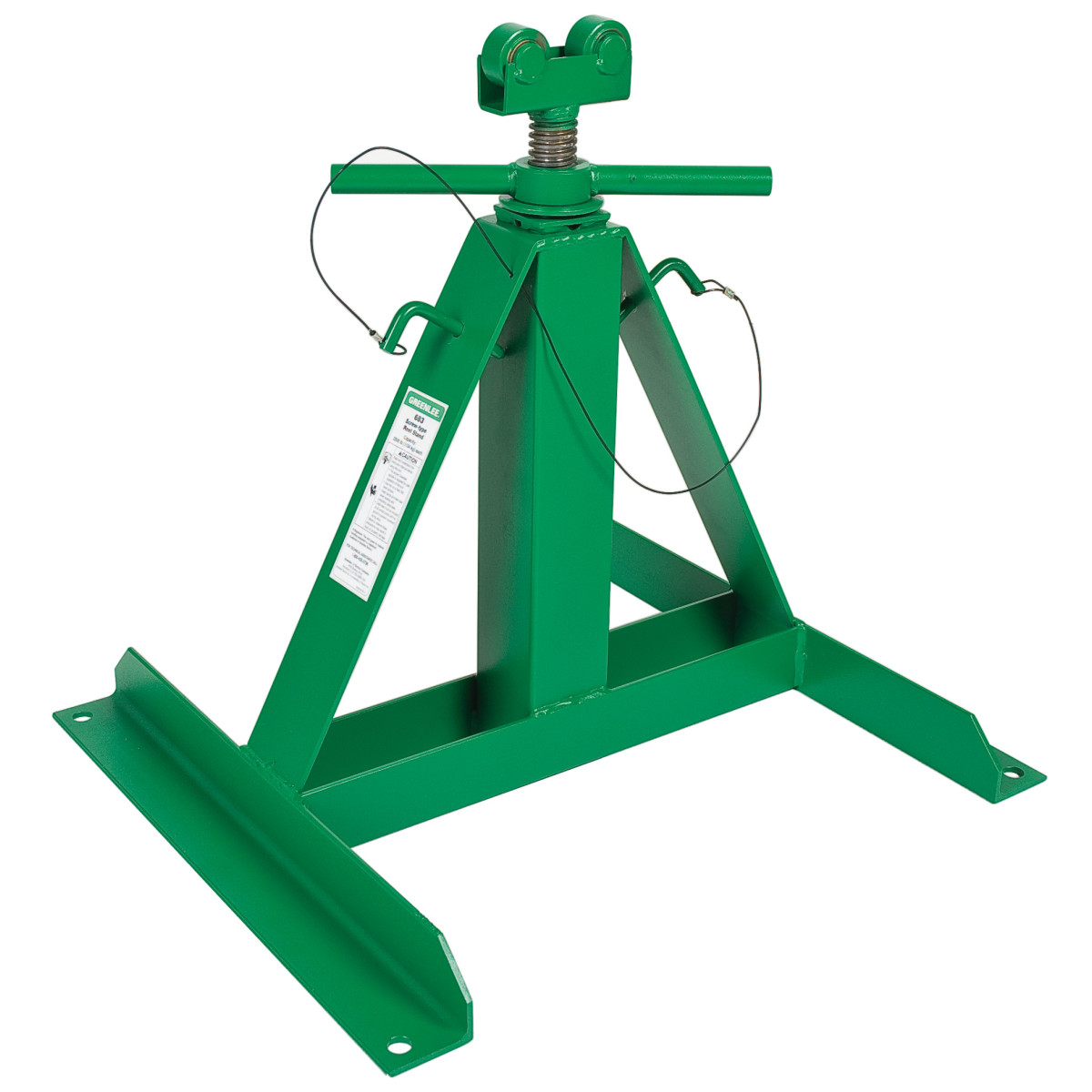 """Greenlee 683 Wire Reel Stand, 22"""" - 54"""""""