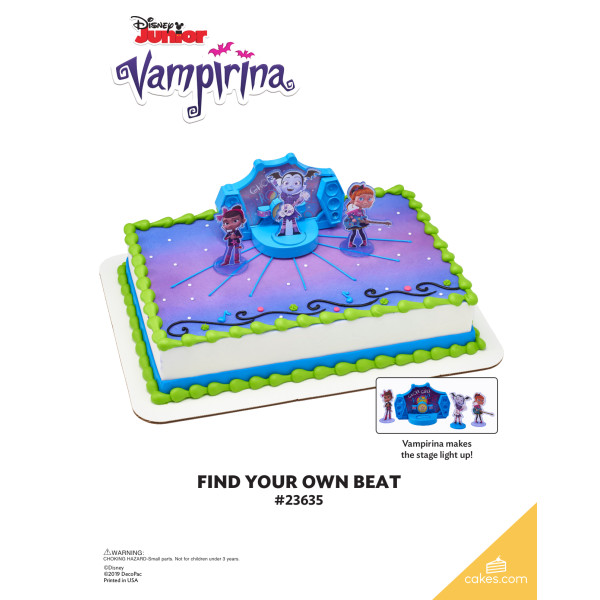 Vampirina Find Your Own Beat DecoSet® The Magic of Cakes® Page