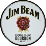 "Bottle Cap Jim Beam (12"")"
