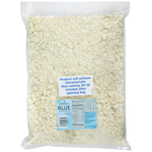 ATHENOS Blue Cheese Crumbles, 5 lb. Bag (Pack of 4) image