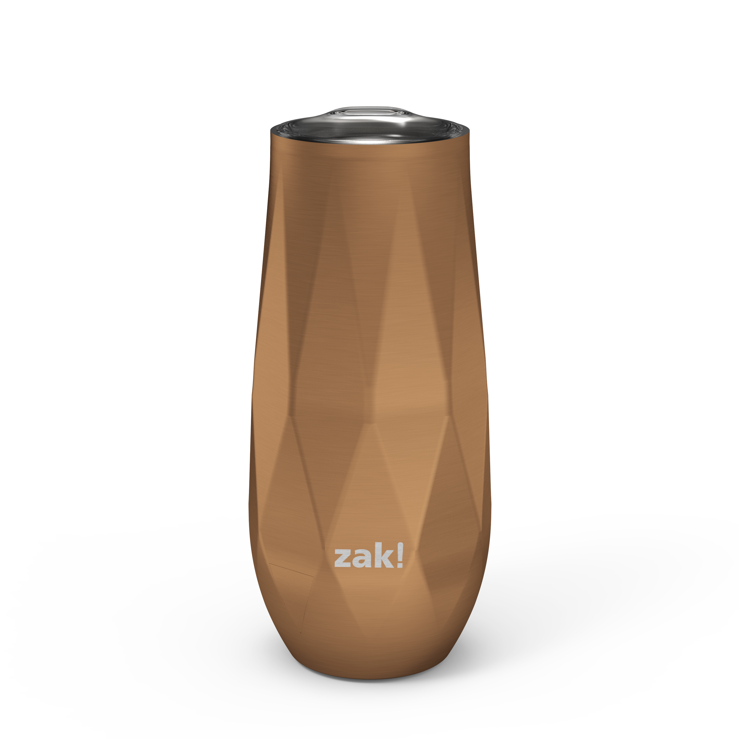 Fractal 9 ounce Vacuum Insulated Stainless Steel Tumbler, Copper slideshow image 1