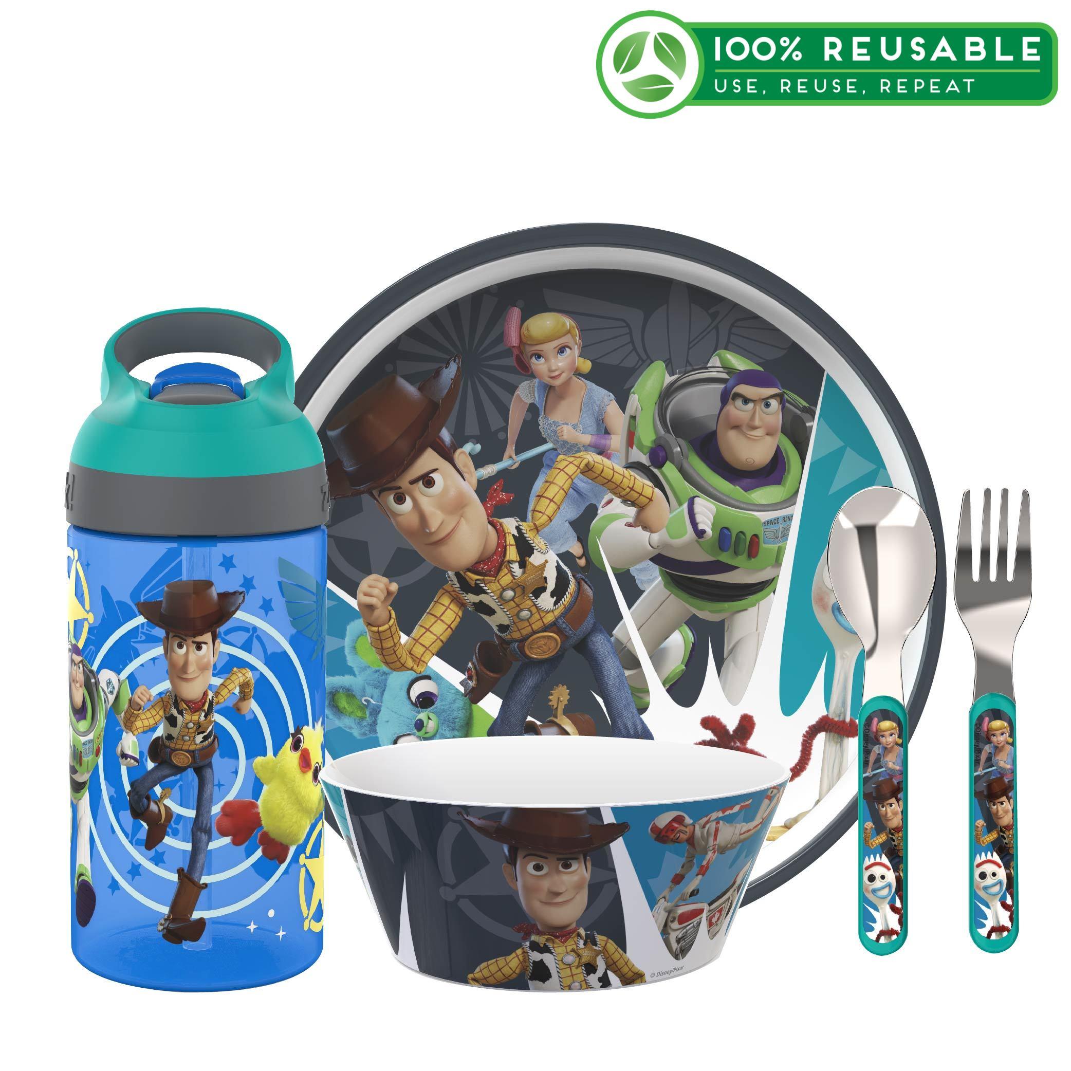 Disney Pixar Dinnerware Set, Toy Story 4, 5-piece set slideshow image 1