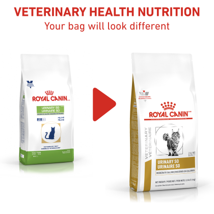 Royal Canin Veterinary Diet Feline Urinary SO Moderate Calorie Dry Cat Food