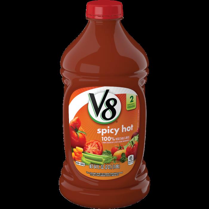 Spicy Hot 100% Vegetable Juice
