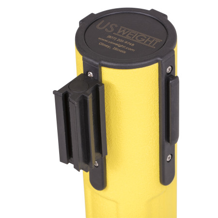 Sentry Stanchion - Yellow with Black Belt 6