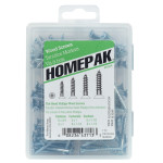 HOMEPAK Flat Head Phillips Wood Screws Assortment