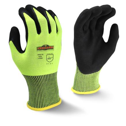 Radians RWG10 Radwear® Silver Series™ High Visibility Knit Dip Glove