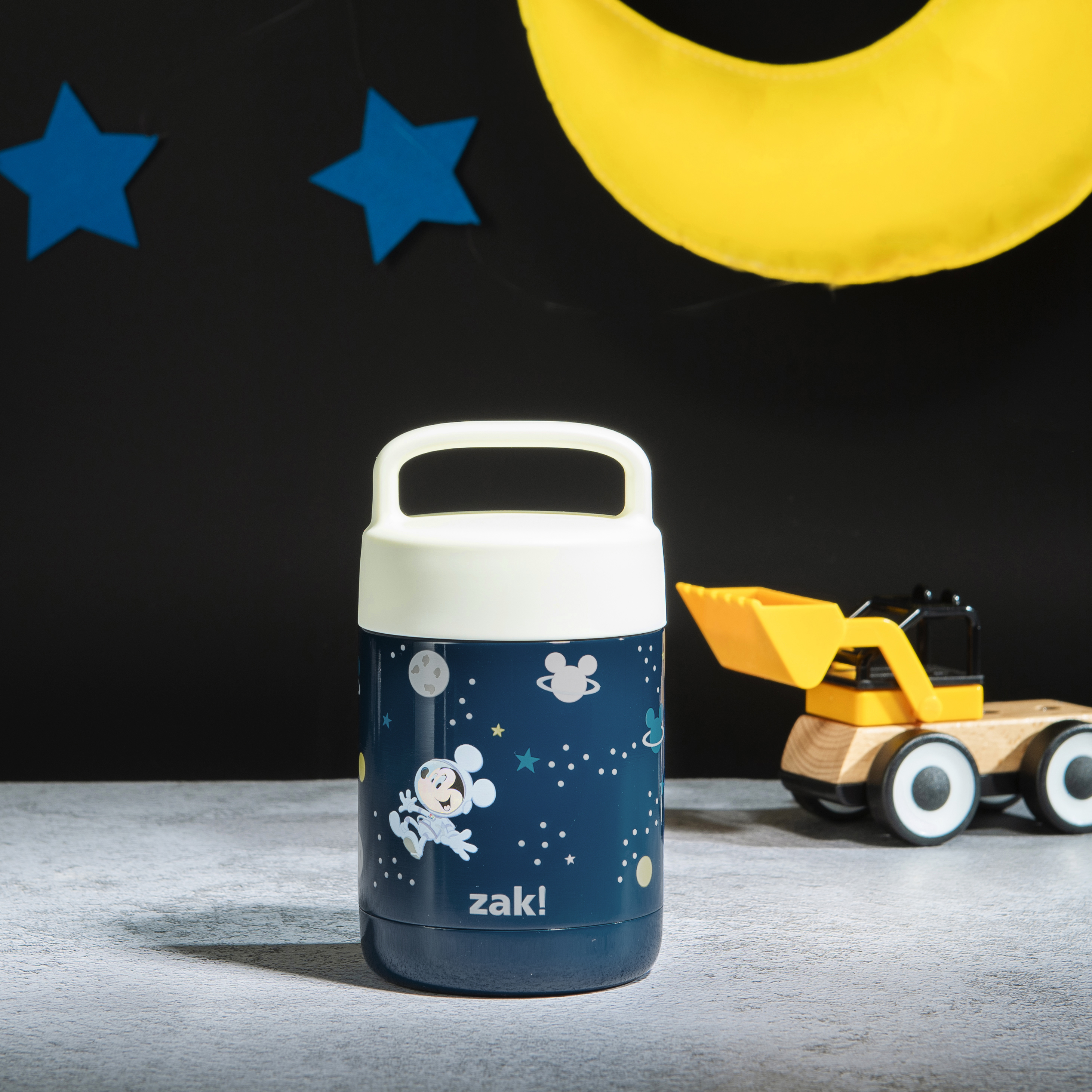 Disney Reusable Vacuum Insulated Stainless Steel Food Container, Mickey Mouse slideshow image 9