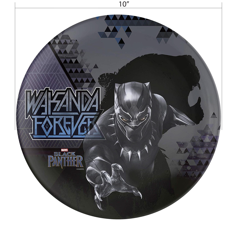 Marvel Comics Dinnerware Set, Black Panther, 2-piece set slideshow image 4