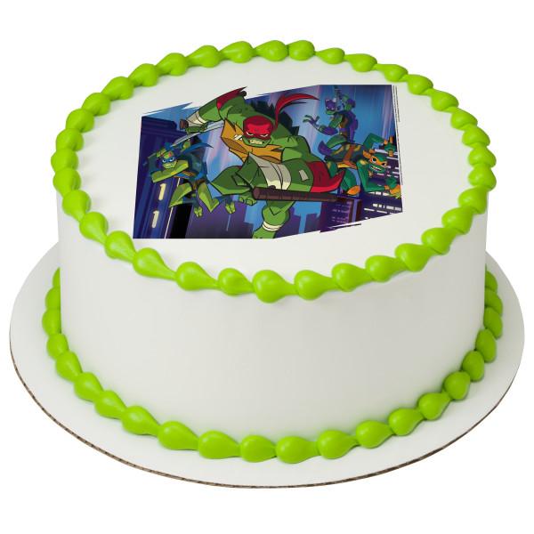 Teenage Mutant Ninja Turtles™ Mutant Mayhem PhotoCake® Edible Image®