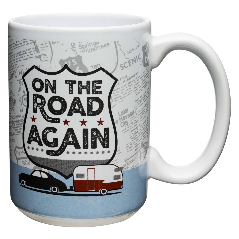 Adventurer 15 oz. Coffee Mug, On the Road Again