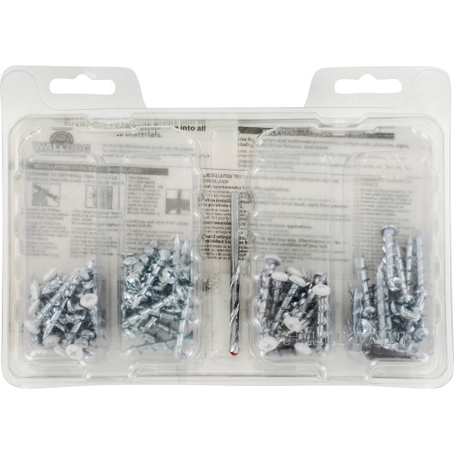 WALLDOG Screw & Anchor In One! Contractor Kit