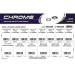 Chrome Special Flat Washers & Fender Washers Assortment