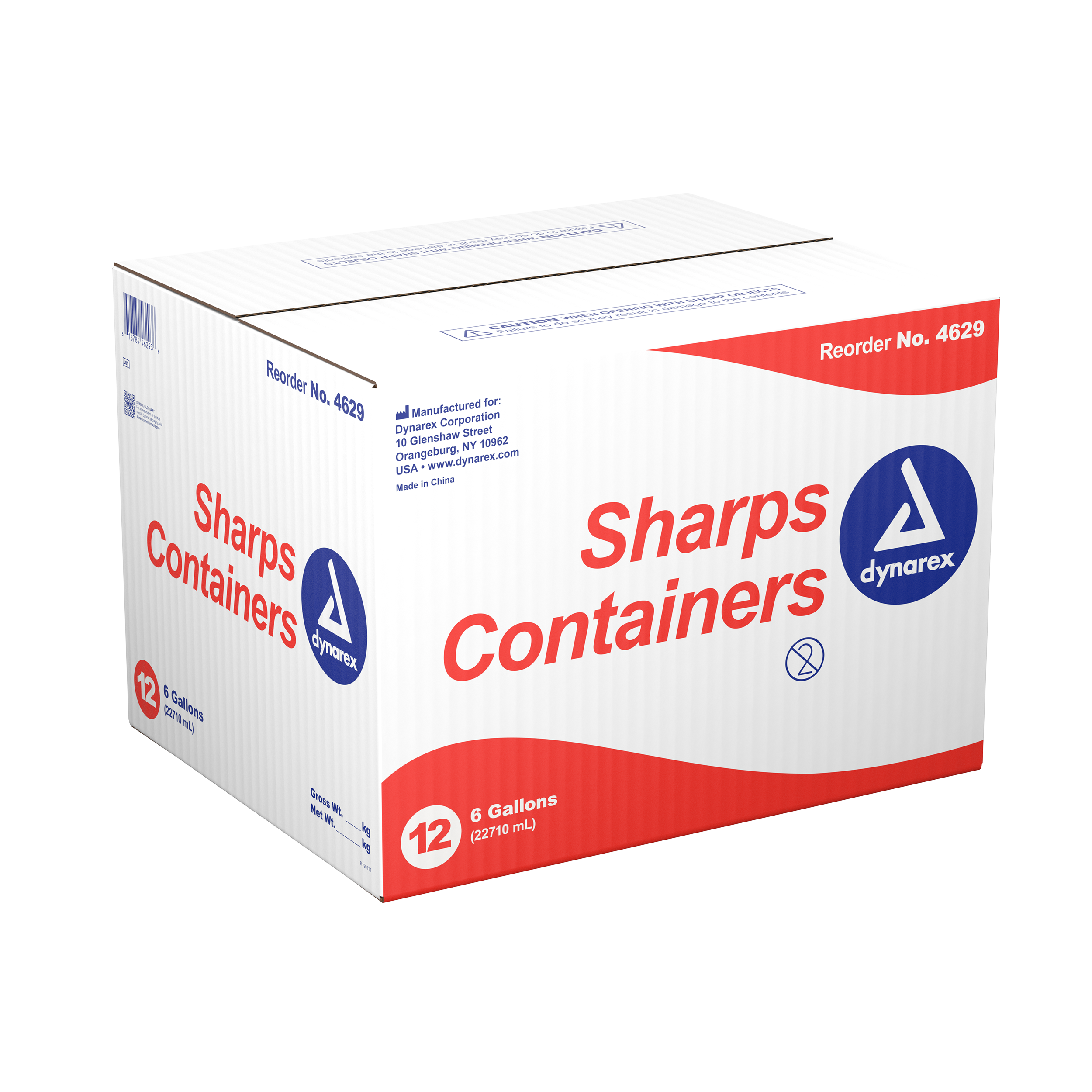 Sharps Containers - 6gal. - 12/Cs