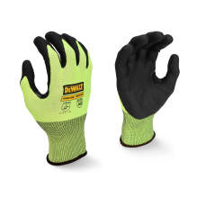DEWALT DPG833 Hi-Vis HPPE Cut Touchscreen Glove