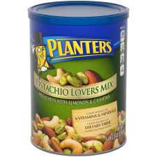 Planters Pistachio Lovers Mixed Nuts, 18.5 Canister