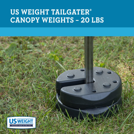 Tailgater Canopy Weights - 20 lbs. 2