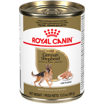 Royal Canin Breed Health Nutrition German Shepherd Adult Canned Dog Food