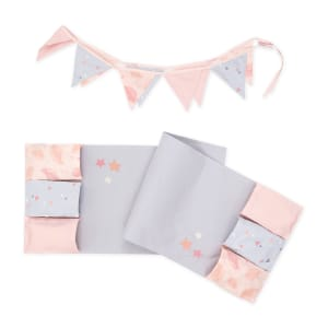 Dreamit - Doudou the rabbit Changing Table Runner and Pennant Banner