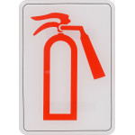"French Fire Extinguisher Sign, 5"" x 7"""