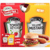 Heinz Tomato Ketchup & Yellow Mustard Combo Pack 19 oz Box