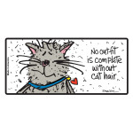 Artisan Series Pet Sign (Cat Hair)