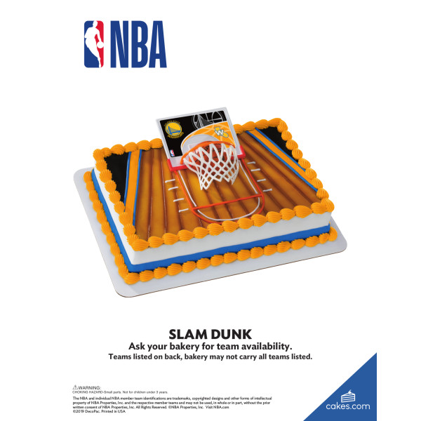 NBA Slam Dunk Team DecoSet® The Magic of Cakes® Page