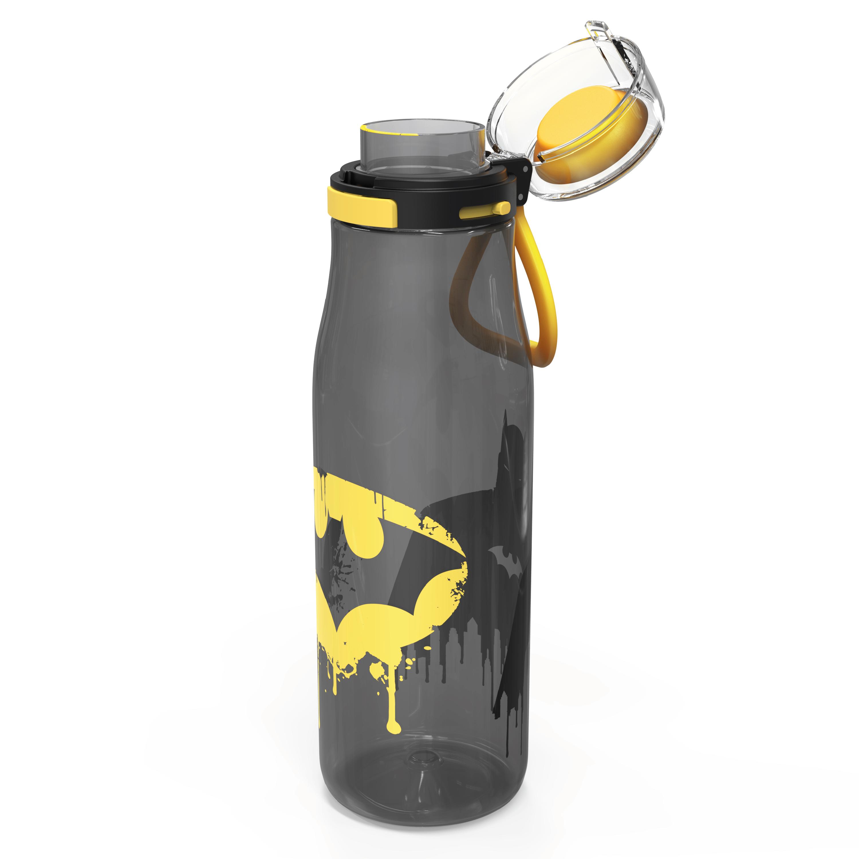 DC Comics 25 ounce Water Bottle, Batman, 3-piece set slideshow image 4