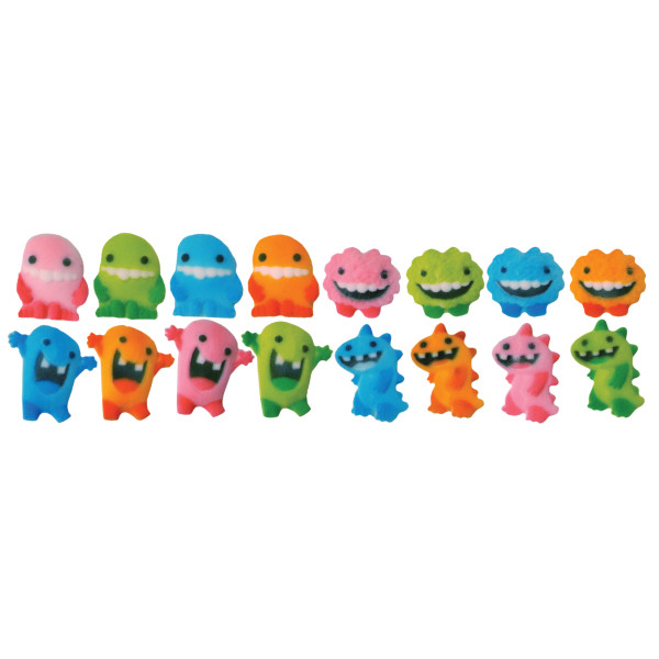 Monster Assortment Dec-Ons® Decorations