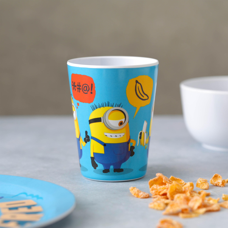 Minions 2 Movie Kid's Dinnerware Set, Minions and Felonius Gru, 3-piece set slideshow image 3
