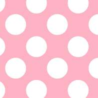 Swatch for Printed Duck Tape® Brand Duct Tape - Pink Polka Dot, 1.88 in. x 10 yd.