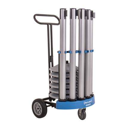 Rover Cart Bundle - Silver Steel 18