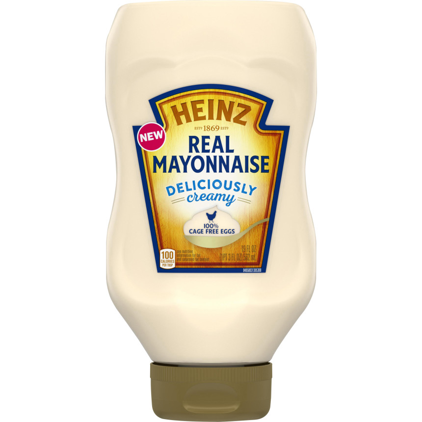 Heinz Mayonnaise, 19 oz Plastic Bottle image