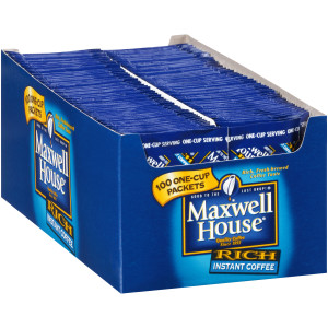 MAXWELL HOUSE Instant Single-Serve Coffee, 5.997 oz. Packets (Pack of 500) image